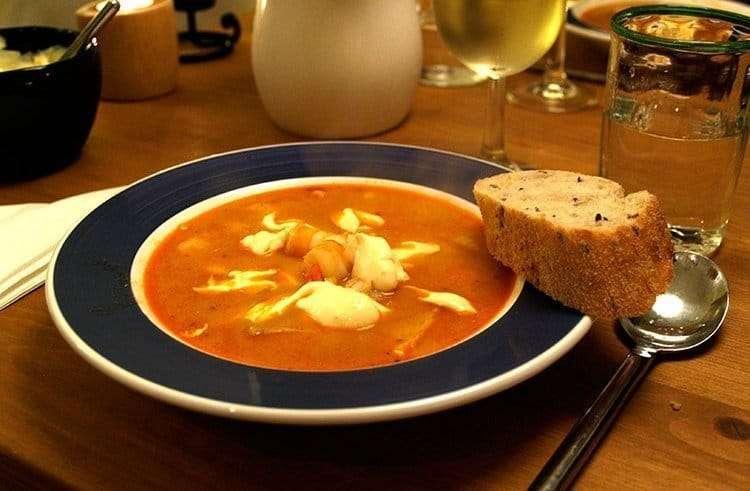 cotriade la zuppa di pesce bretone